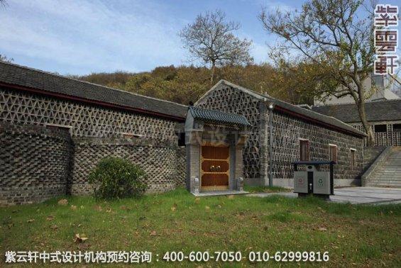 会所外景中式装修效果图_江苏新中式会所设计案例