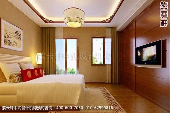 住宅客房中式装修效果图_住宅古典中式设计案例
