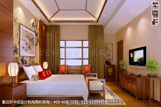 住宅小孩房中式装修效果图_住宅古典中式设计案例