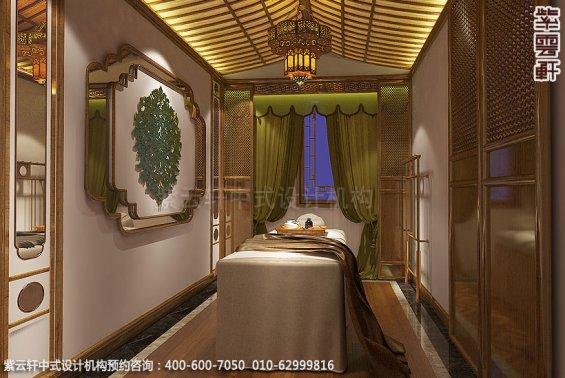 会所装修-上海中医养生会馆儒雅空间-包间中式装修效果图