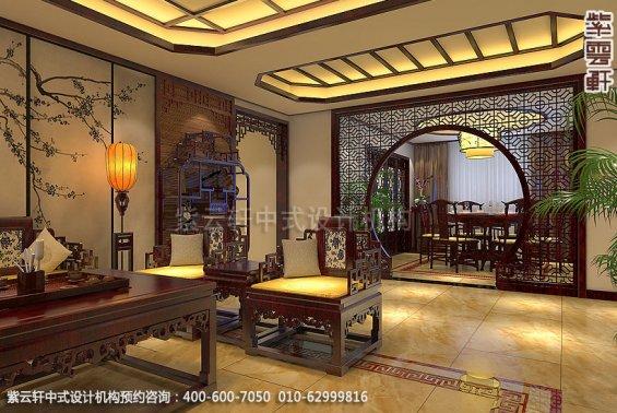 精品住宅,刘宅禅意空间设计,餐厅中式装修效果图