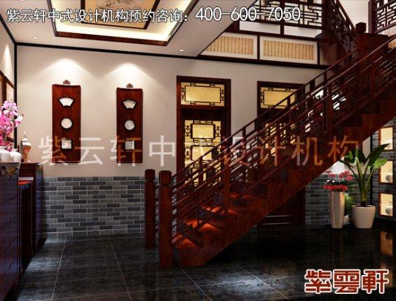 古典中式装修设计贵州镇远福源宾馆,过道中式装修效果图