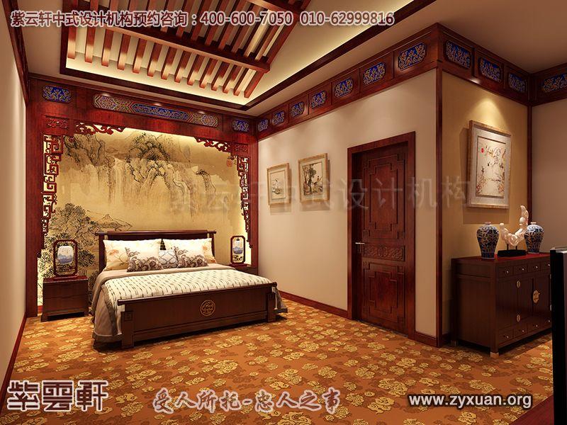 卧室中式装修效果图 来源:未知 说明:小卧室古典中式设计,简雅清和.