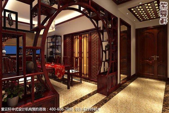 兰州精品住宅古典中式设计,餐厅中式装修效果图