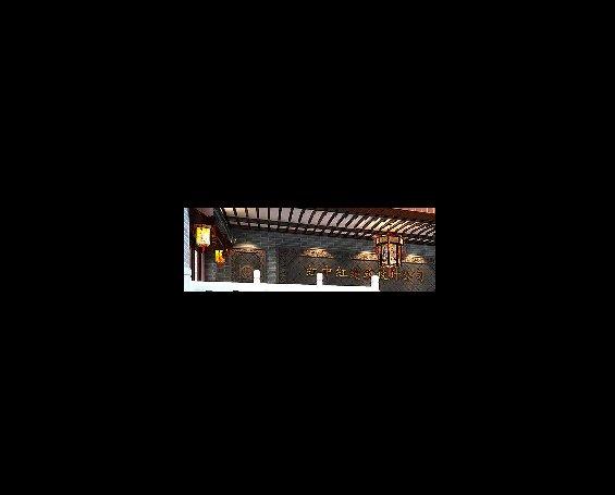办公室中式装修经典案例展示,大门中式装修图