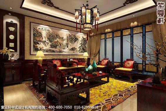 新中式装修风格案例,中式客厅装修图