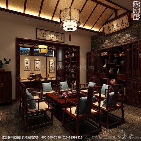 新中式装修风格案例,中式休息室装修图