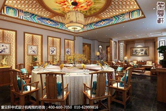 餐饮酒店中式装修案例赏析,餐厅包房中式装修图