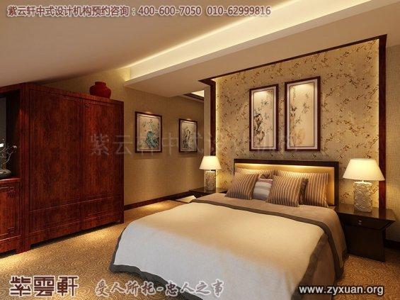 新中式风格高端商务会所设计案例,中式会所客房装修图