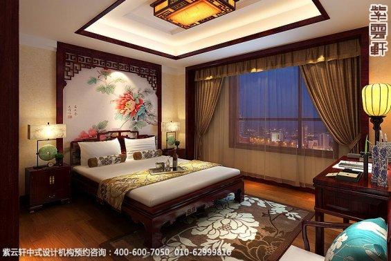 古典中式装修北京大宅精装改造案例赏析,住宅女儿房中式设计图