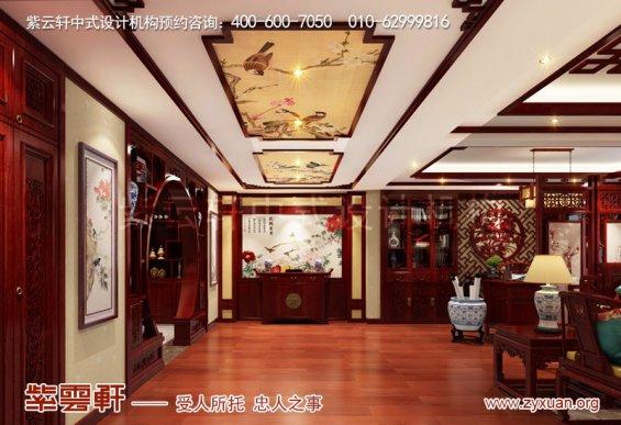 紫云轩精品家装设计,玄关古典中式装修图