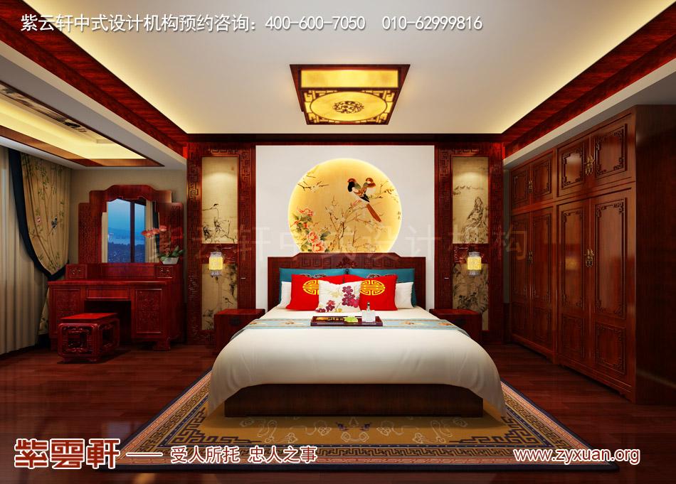北京传统宫廷风格大平层装修效果图,传统宫廷风格平层老人房装修