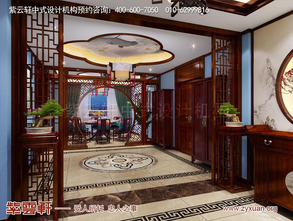 山西吕梁会所现代中式风格私人会所效果图展示,就餐厅现代中式风