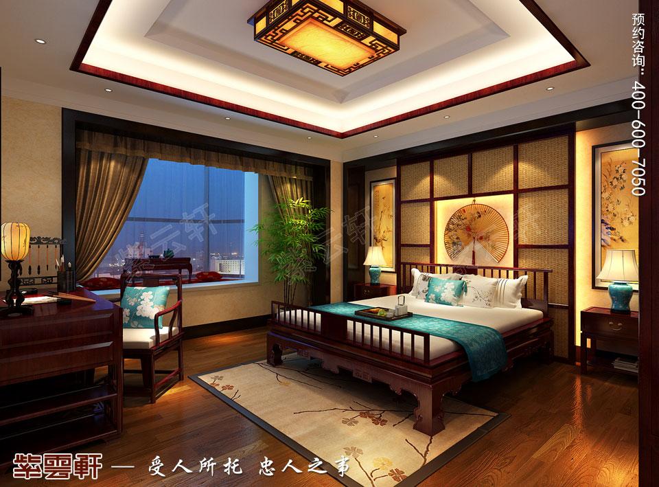 老人房中式设计图 来源:紫云轩中式装修效果图 说明:         北京图片