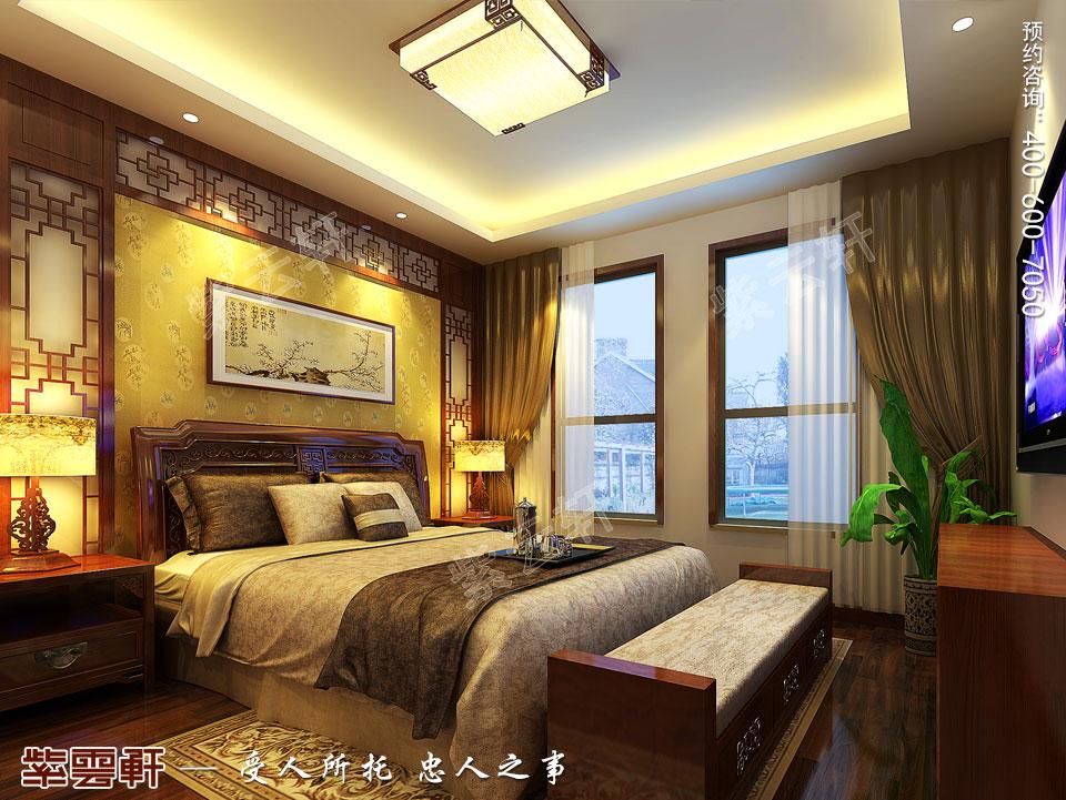老人房中式装修 来源:紫云轩中式设计机构 说明:         长春豪宅图片