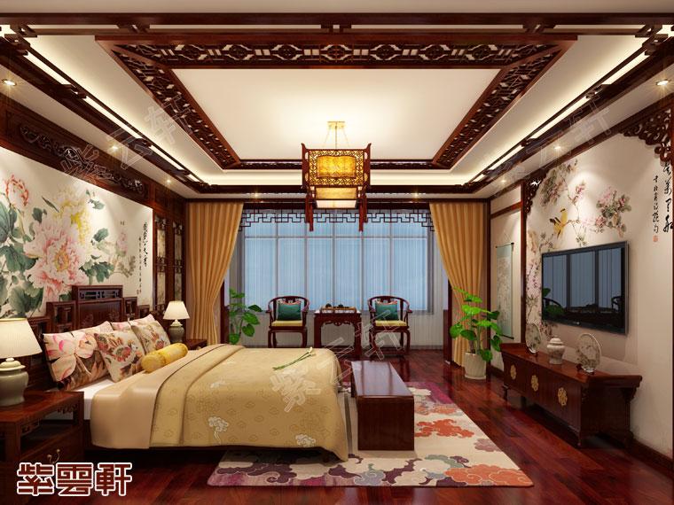 而中式家居之中女儿房的设计更具有古典气息和书卷味儿.