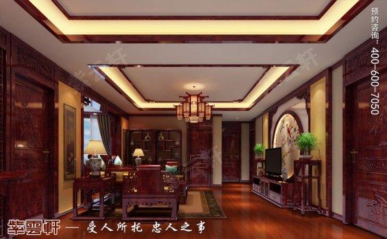 郑州复式简约中式装修效果图,中式客厅设计装修