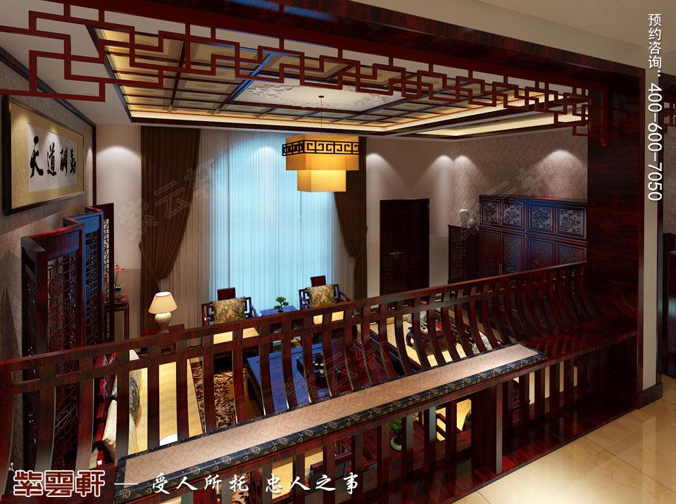 保定复式现代中式装修效果图,餐厅中式装修效果图