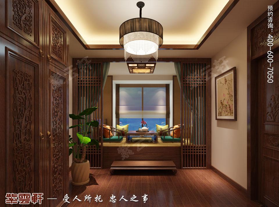南通复式楼现代新中式风格装修效果图,暖阁中式设计