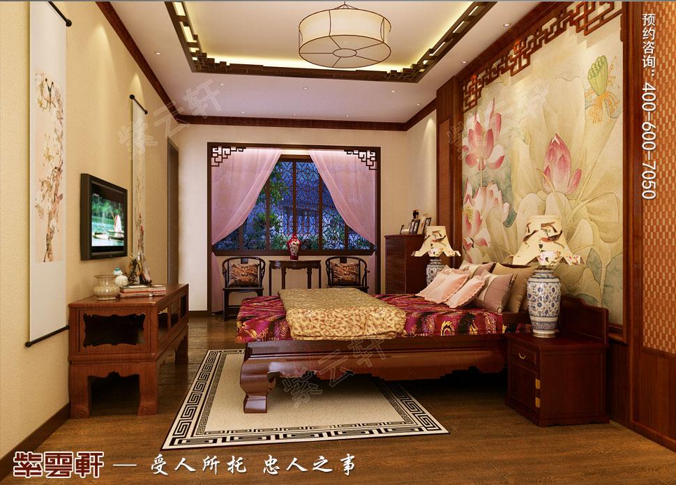 吉林珲春复式楼现代古典中式装修效果图,女儿房中式设计