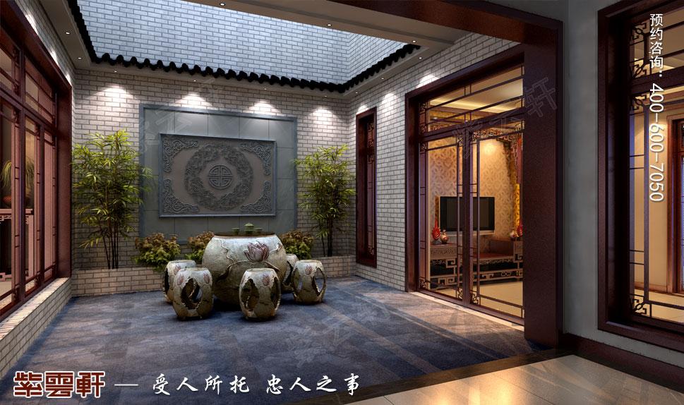浙江绍兴金先生别墅现代中式装修效果图,中式阳台设计图