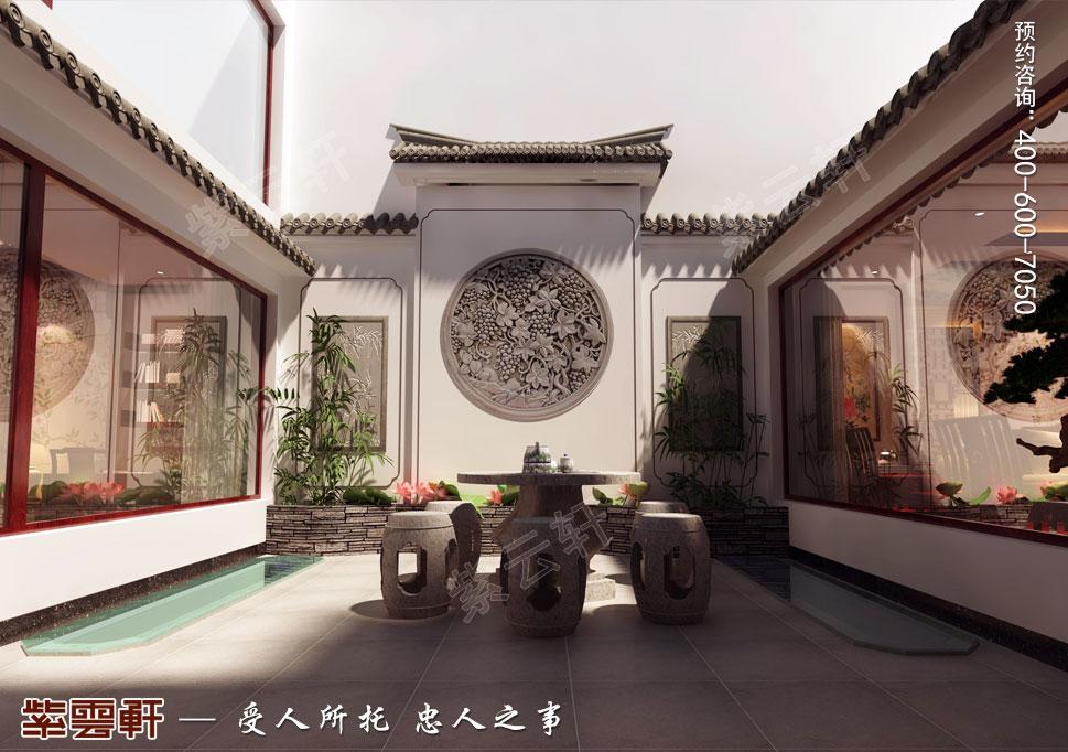江苏昆山天伦随园古典中式装修风格,露台设计图
