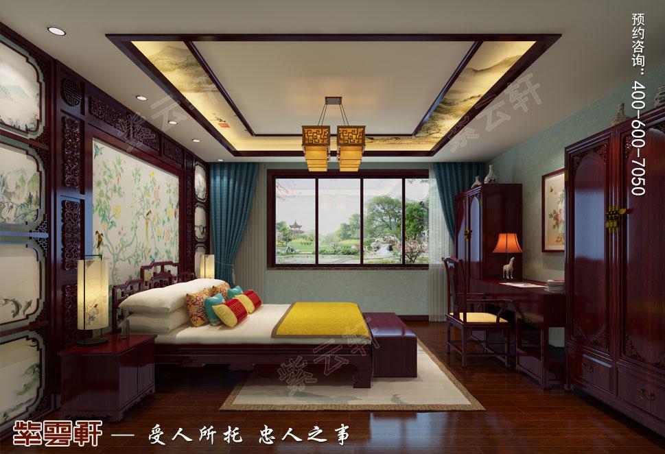 北京御汤山古典中式别墅装修效果图,男孩房中式装修