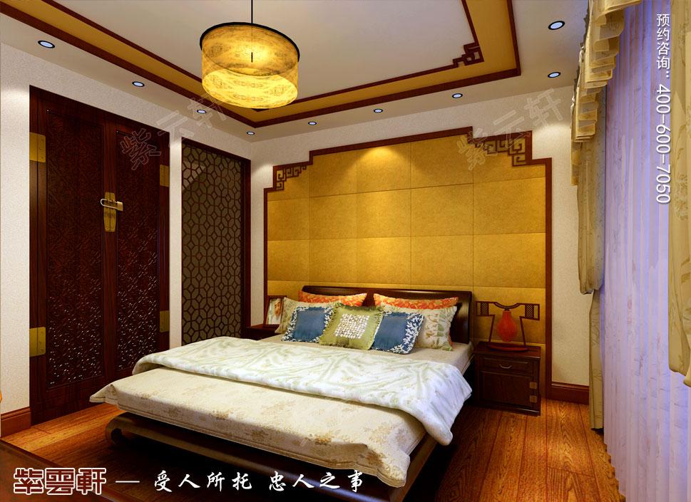 浙江义乌别墅简约古典中式装修图片,客房中式装修设计图