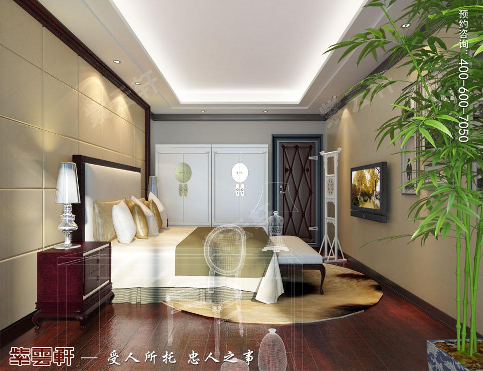 简约古典中式设计南京别墅装修案例欣赏,女儿房中式设计图