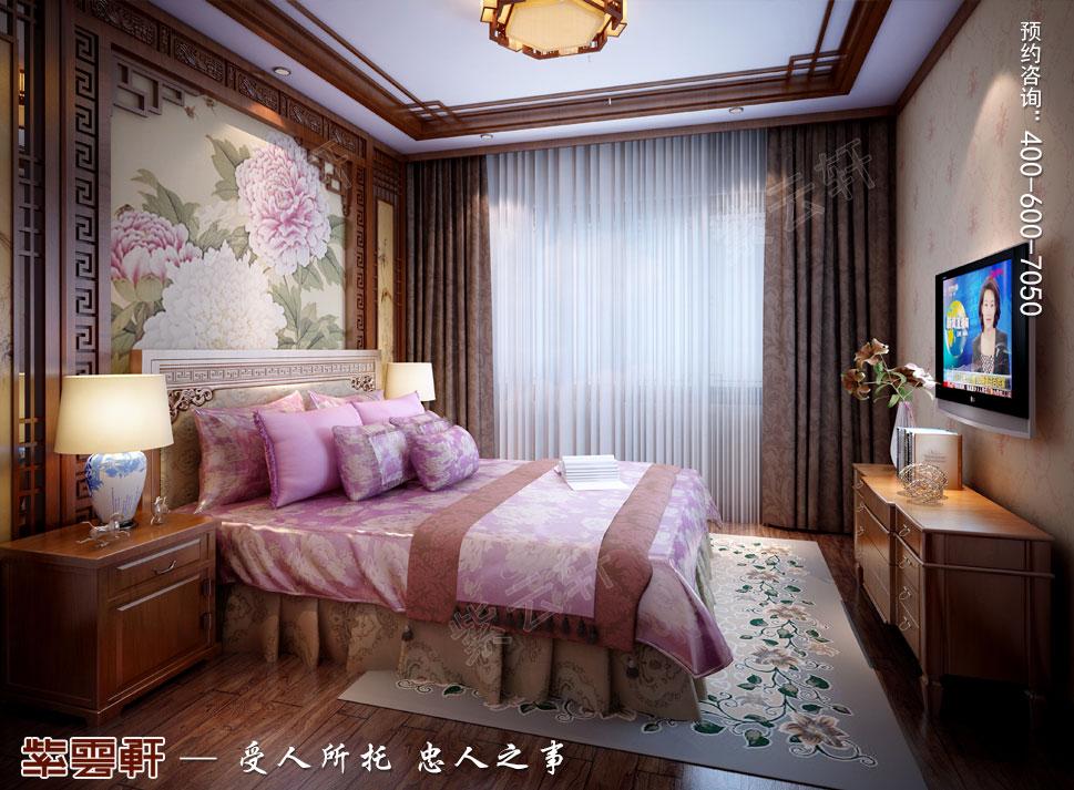 南京纯古典中式别墅装修效果图,中式女儿房设计