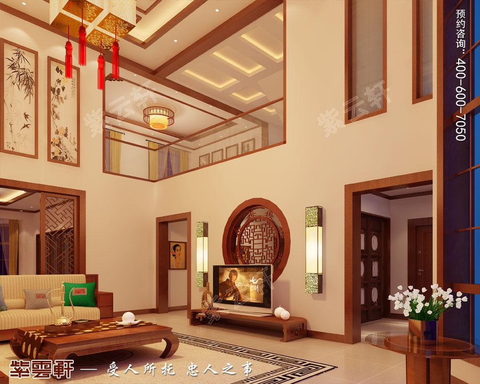 苏州别墅现代中式装修图片,中式客厅装修图