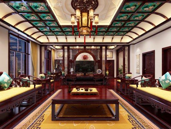 别墅中式设计 设计图