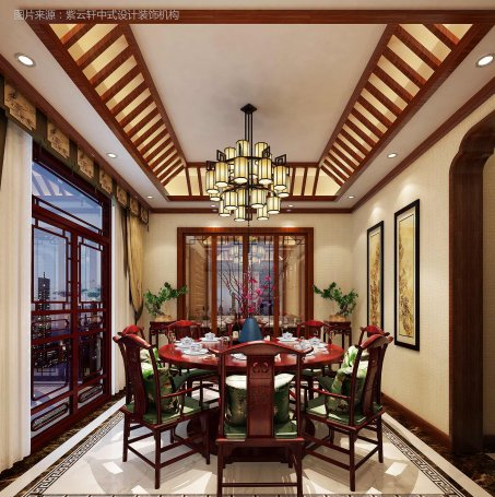 中式餐厅装修设计