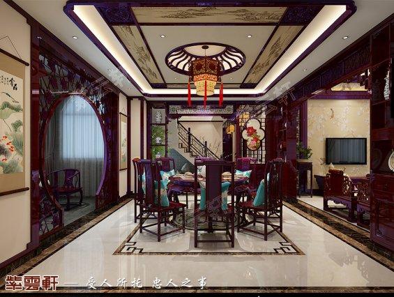 中式餐厅 卧室效果图