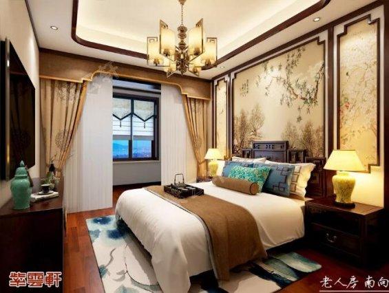 中式装修 卧室效果图