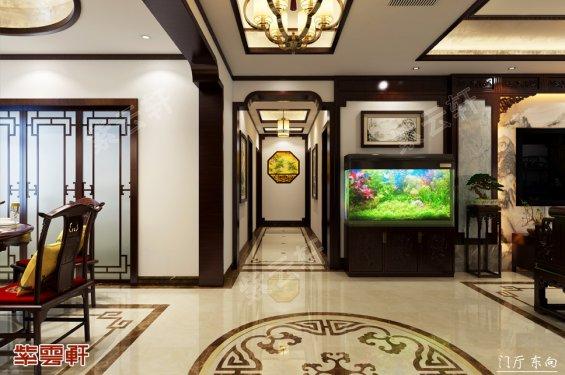 门厅中式设计效果图