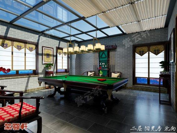 武汉刘先生别墅阳台休闲室装修