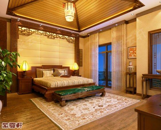 北京市顺义区别墅中式装修效果图 赴一场风花雪月的浪漫