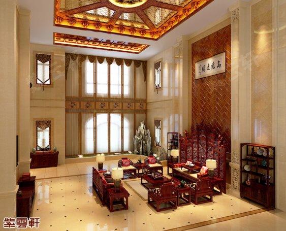 廊坊现代中式风格别墅