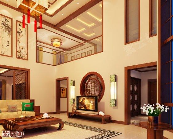 中式客厅设计 美轮美奂