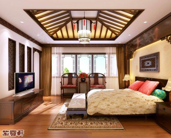 传统中式卧室设计