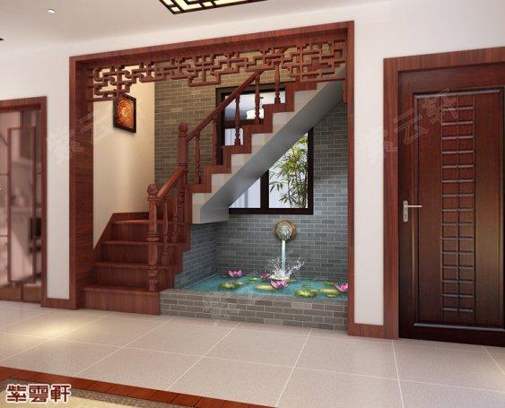 楼梯间 中式设计装修