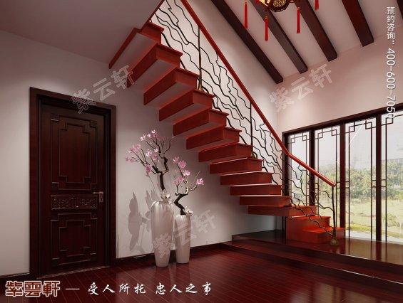 福建厦门市平层中式装修 氤氲着浓浓的美