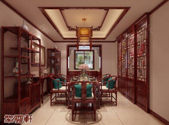 餐厅中式装修效果图