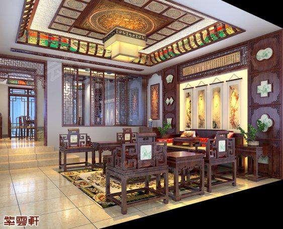 中式装修客厅图