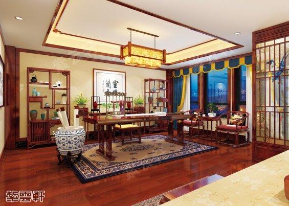 中式设计书房设计