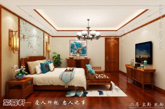 别墅卧室中式装修