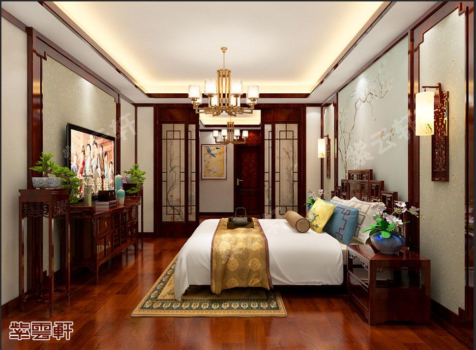 中式古典温馨卧室