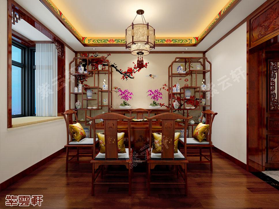 中式馨香茶室
