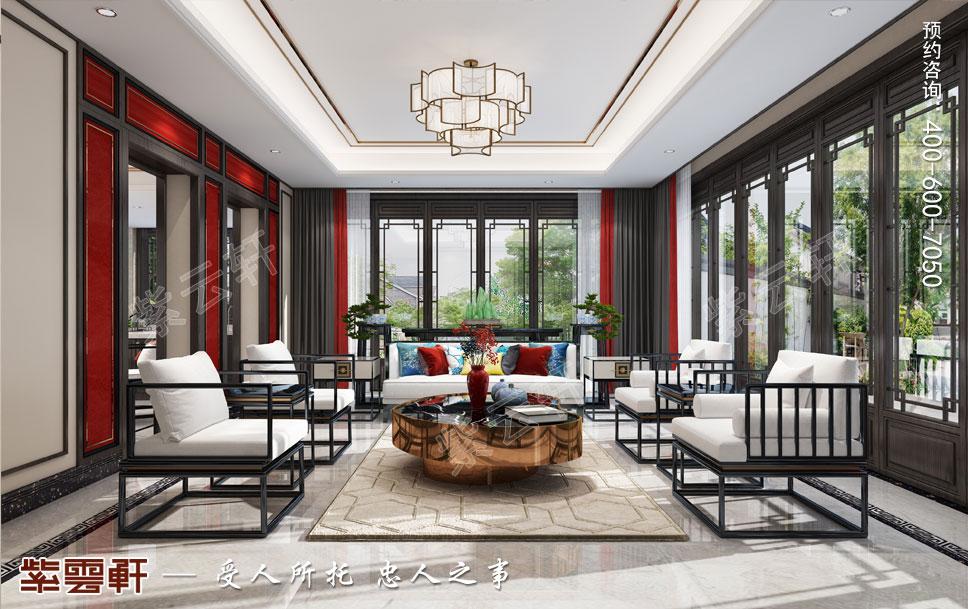 新中式大气典雅客厅